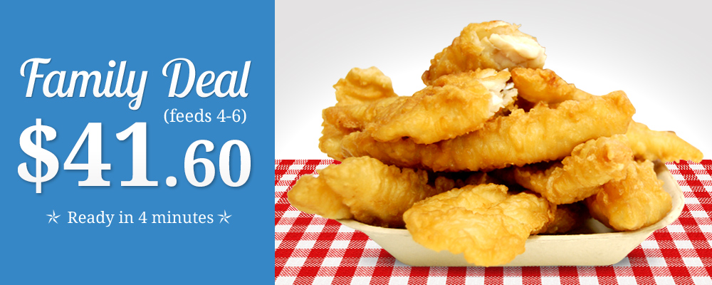 Newfoundland's Own Fish & Chips - Family Deal $30.95